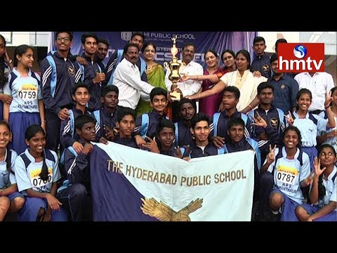 CBSE Cluster 2017 Athletic Meet | 4th Day Highlights | Hyderabad | HMTV