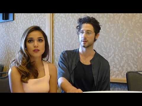 Summer Bishil & Hale Appleman for The Magicians at SDCC 2016