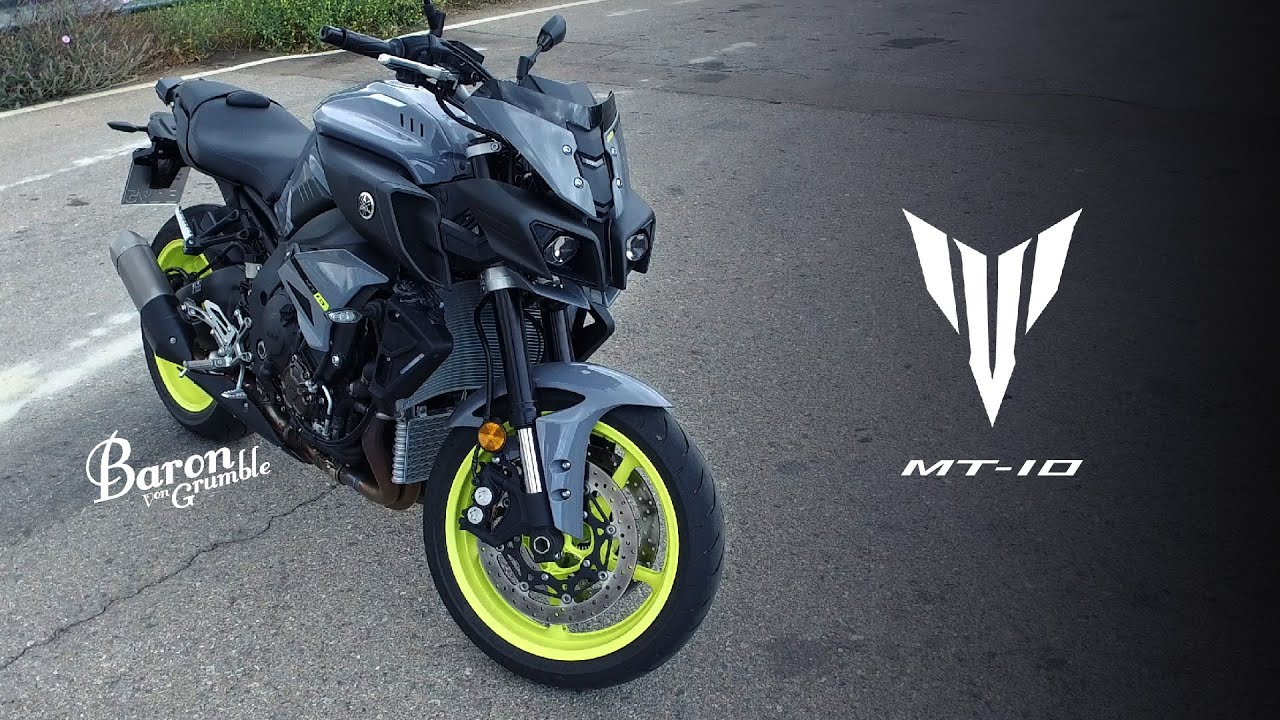 Yamaha MT-10 Walk Around In 4K