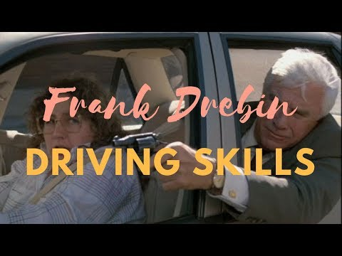 Frank Drebin Funny Driving Skills | The Naked Gun driving compilation | Leslie Nielsen funny moments