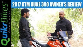 2017 KTM Duke 390 Honest Real Life Review by Owner