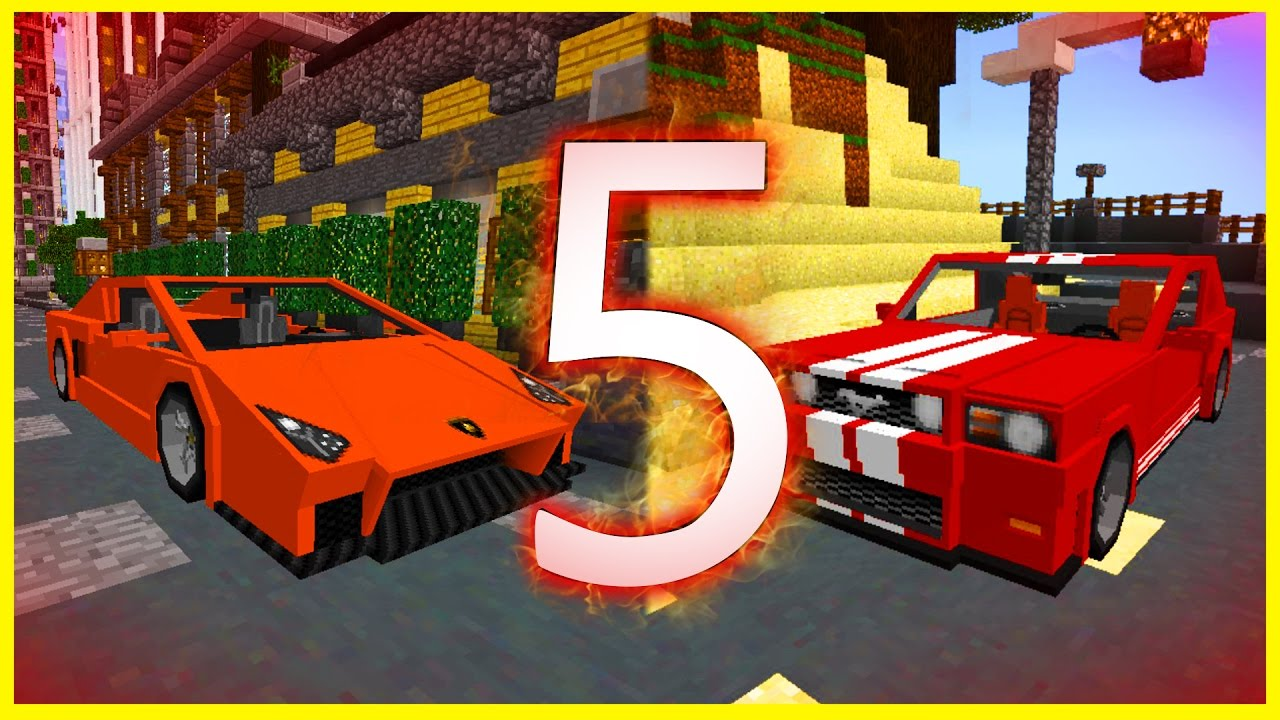 Minecraft PE Addons - TOP 5 BEST CAR ADDONS! iOS & Android - MCPE 1 1 /  1 0 8