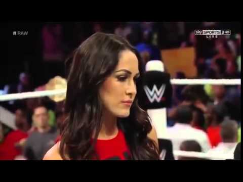 Nikki Bella vs. AJ Lee (Sept. 22, 2014)