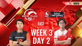 [BAHASA] W3D2 - PMWL EAST - League Play | PUBG MOBILE World League Season Zero (2020)