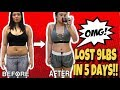 LOST 9 LBS IN 5 DAYS | lose weight fast | EGG DIET *low cost and effective
