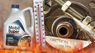 Mobil Super 1000 X1 15W40 Jak skutecznie olej chroni silnik? 100°C