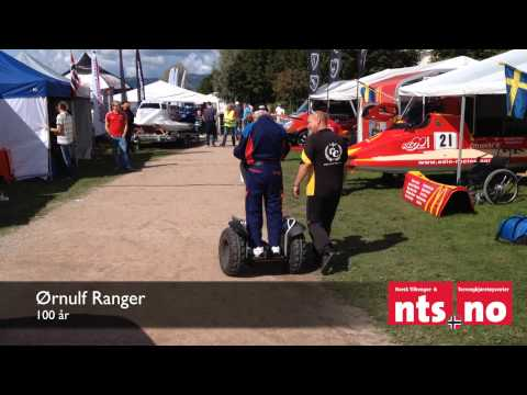 NTS.no | Worlds oldest Segway rider? 100 year old Norwegian