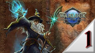 "Прохождение: Warlock - Master of the Arcane ""Hard"" (часть 1) (no saving\autosaves only)"