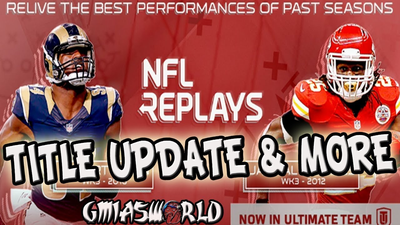 MADDEN NFL TITLE UPDATE 1.12 TRADE METER FIX NFL REPLAY LOYALTY TOKEN MADDEN  18 ULTIMATE TEAM d724e74de
