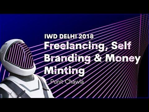 "Google Developer Group — International Woman's Day ""Freelancing, Self Branding and Money Minting"""