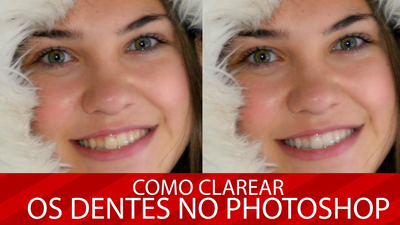 Photoshop Como Deixar Dentes Brancos No Photoshop Youtube