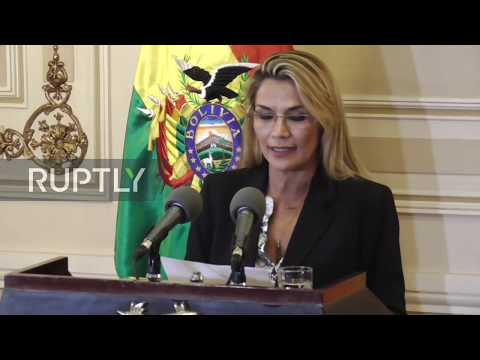 Bolivia: Interim President Anez Calls For General Election In First National Address