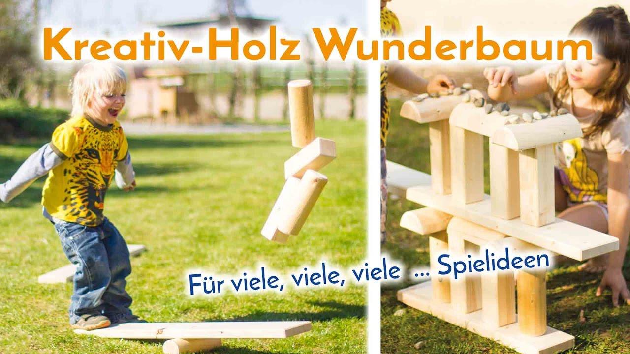 Neu: Kreative Holz Wunderbaum