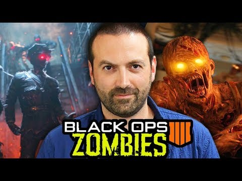 NEW BLACK OPS 4 ZOMBIES INTERVIEW: BLOOD TEASERS, EASTER EGGS CHANGES & MORE!