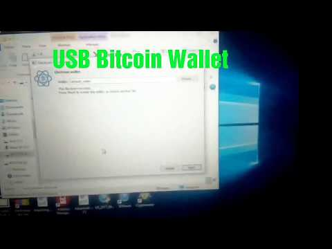 Electrum USB Bitcoin Wallet.