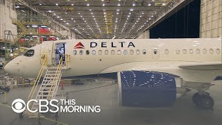 New Delta Airbus A220 features wider coach seats