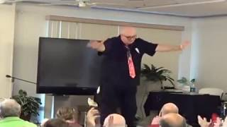 Senior / Boomer Entertainment demo video of Magician Steve Hart