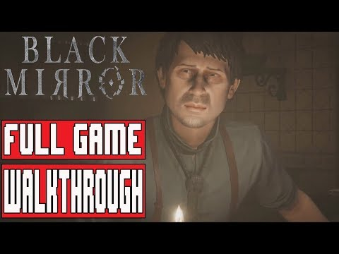 BLACK MIRROR Gameplay Walkthrough Part 1 FULL GAME (Chapter 1) No Commentary