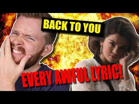 "Cover Lagu Every Awful Lyric in ""Back to You"" by Selena Gomez STAFABAND"