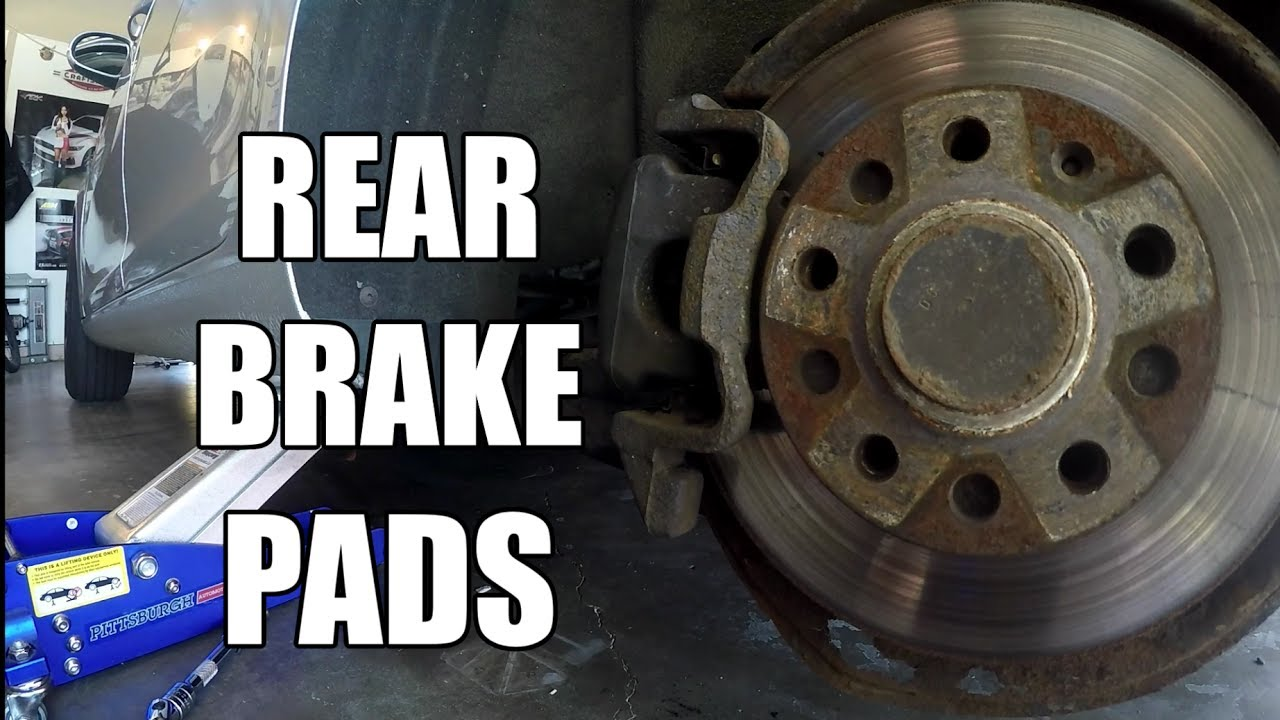 When To Replace Brake Pads >> HOW TO Replace Rear Brake Pads on a Volkswagen VW JETTA ...