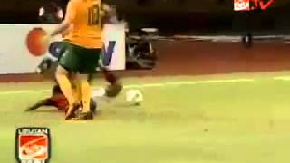 Indonesia VS Australia 0 1 Penyisihan Piala Asia U 22 5 Juli 2012   YouTube