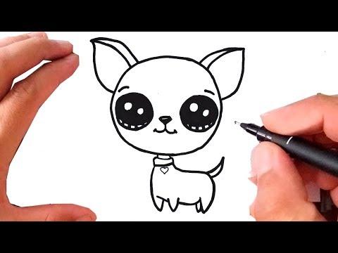 Como Desenhar Um Cachorro Kawaii Youtube