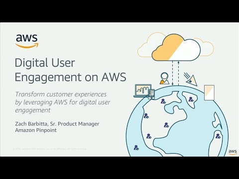 AWS Mobile Week - San Francisco: Mobile Messaging from Analytics to Engagement