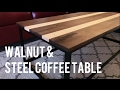 DIY Metal-Based Coffee Table (DIY Woodworking)
