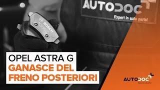 Video tutorial e manuali di riparazione per OPEL ASTRA - per mantenere la Sua auto in perfetta forma