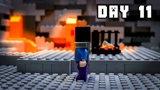 LEGO Minecraft Survival Day 11 (Stop Motion Animation)