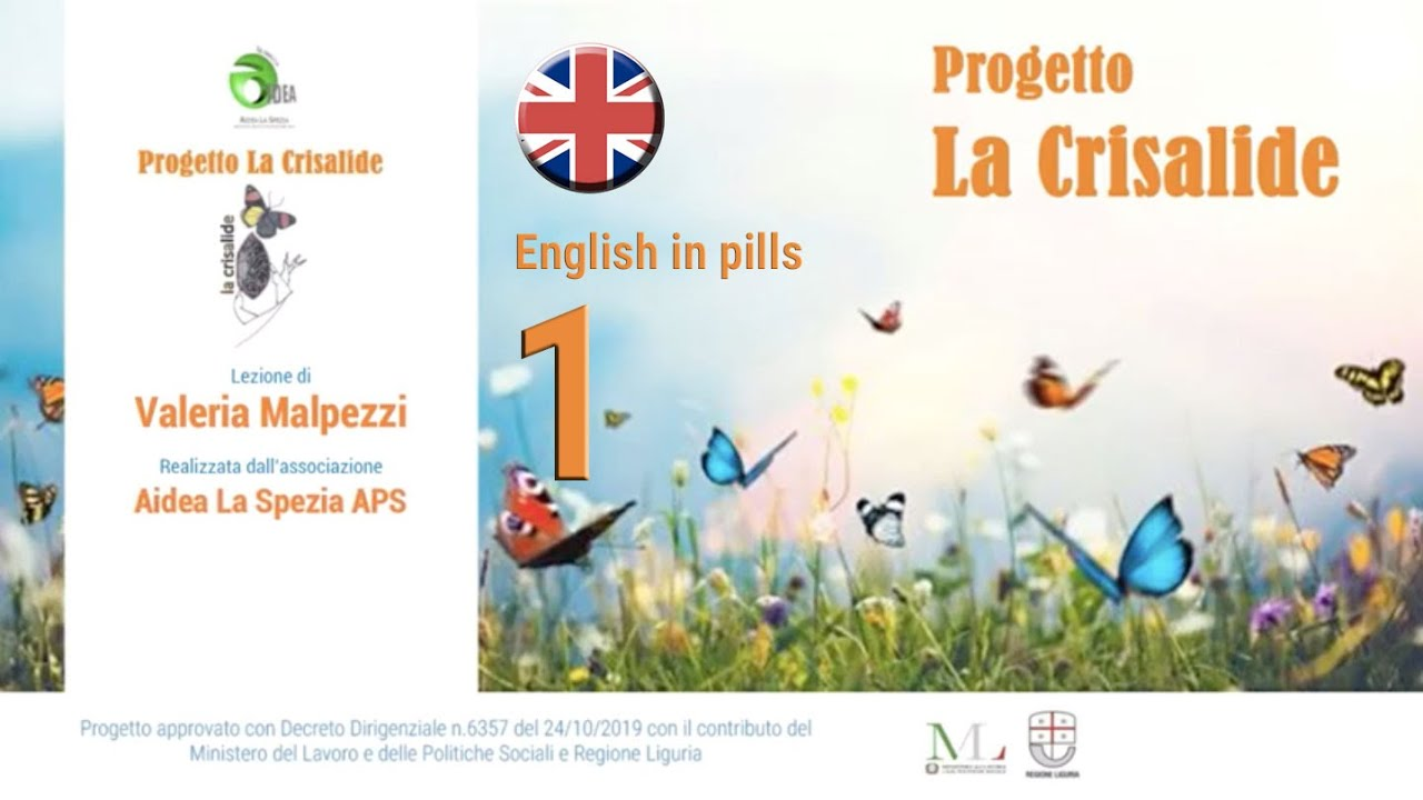 English in pills - 1 - Valeria Malpezzi