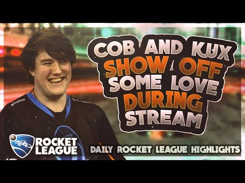 Daily Rocket League Plays: Cob and Kux show off some love during the stream thumbnail