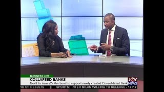 Collapsed Banks - Business Live on JoyNews (2-8-18)