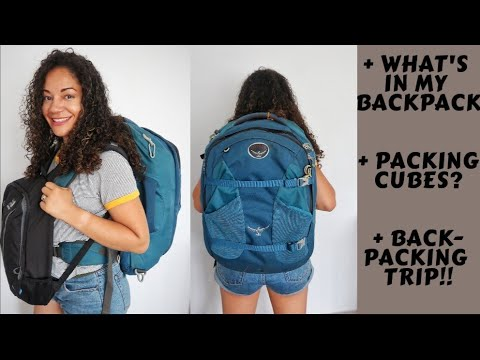 how-to-pack-my-backpack-using-packing-cubes- -how-i-use-my-backpack-as-carry-on