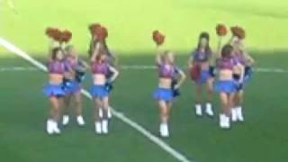 The Crystals Cheerleaders - LMFAO Sexy and I know it - Half Time Routine CPFC - 2/1/2012
