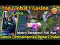 Top Global 1 Gusion CLARA, Player Yg Berhasil Menyalip Posisi Global 1 GS Jess No Limit.