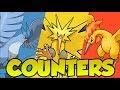 COUNTERS ATUALIZADO DOS 3 PÁSSAROS LENDÁRIOS - Pokémon Go   PokeDicas