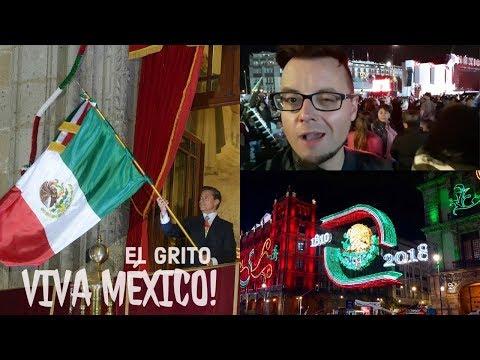 CELEBRATING MEXICO'S INDEPENDENCE DAY 2018 IN CDMX! | EL GRITO | VIVA MEXICO!