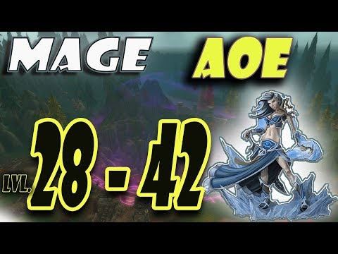 Classic WoW Mage AoE Leveling Guide: 28-42 (HORDE)