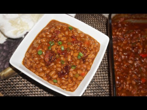 How To Make Baked Beans with Bacon  MUST TRY!