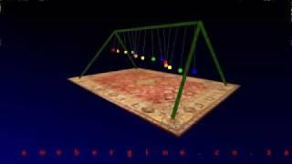Pendulum Waves Polyrhythm