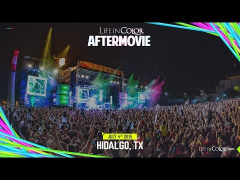 Life In Color - BIG BANG - Hidalgo, TX - 07.04.15 - Official Aftermovie