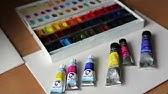 Жидкая акварель Ecoline. Обзор красок (материалы для рисования .