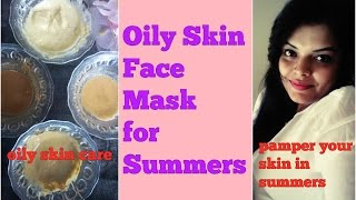 #1 Summer Special- FACE MASKS for OILY, COMBINATION SKIN to get FAIR GLOWING SPOTLESS SKIN in HINDI   PreetiPranav - Indian mom's tips & DIYS