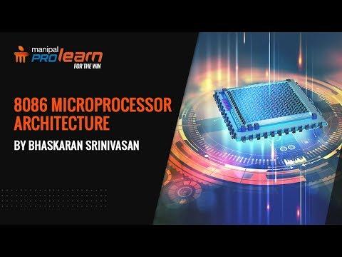 The 8086 Microprocessor Architecture