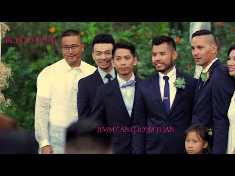 GAY WEDDING : JIMMY AND JONATHAN SERASI
