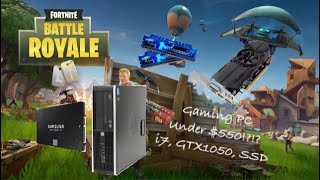 Fortnite Gaming on HP Elite 8300 PC!!! Cheap and Easy Computer Build Guide