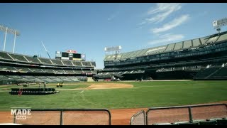 Flipping Oakland\'s Field from Baseball to Football