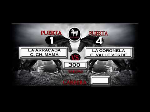 LA ARRACADA VS LA CORONELA - 03 SEPT 17  - PUERTO MEXICO RACE TRACK - PURA SANGRE PRODUCCIONES