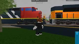 Railfanning Affton MO and Trinity AL in Roblox
